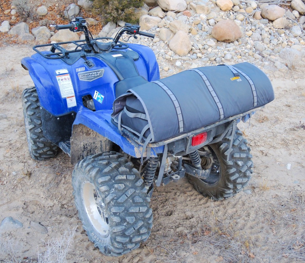 Compact ATV cargo pack